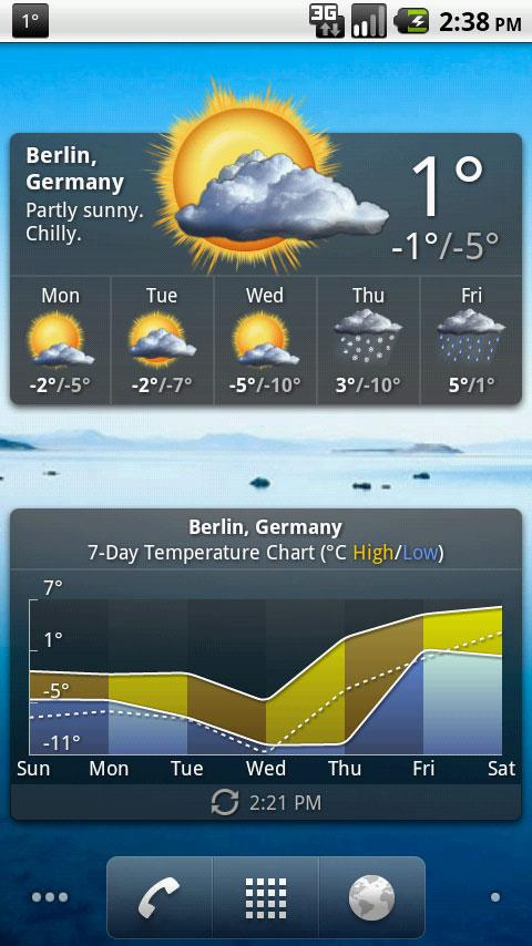 Palmary Weather Premium - screenshot