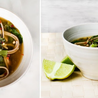 Spinach And Soba Noodle Soup