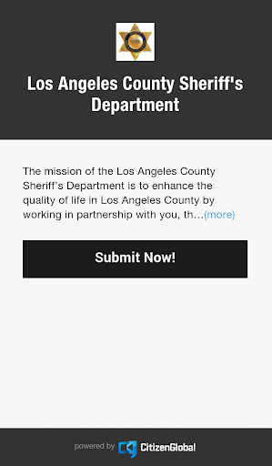 LA Sheriff Digital Witness