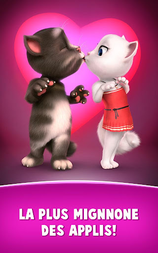 Lettres d'amour de Talking Tom  captures d'écran 5