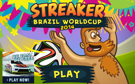 Streaker Brazil Worldcup 2014