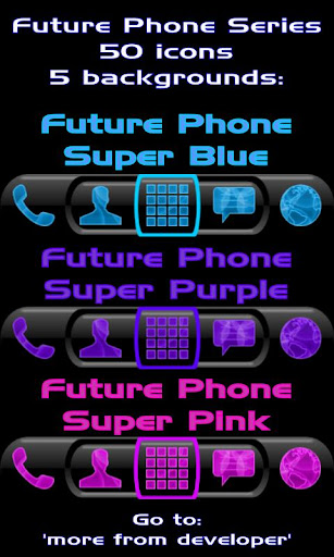 Blue Neon Super Theme  screenshots 8