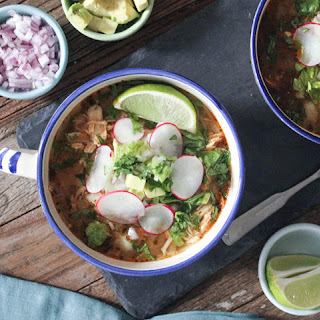 20-Minute Chicken Posole