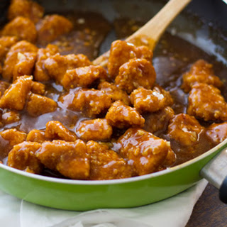 Healthier General Tso's Chicken + Giveaway