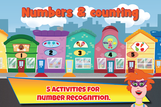 Numbers counting with Tilly