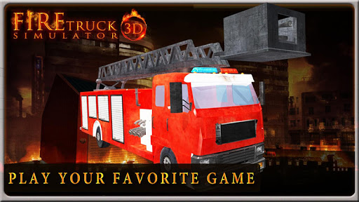 FIRE TRUCK SIMULATOR 3D 2.5 screenshots 2
