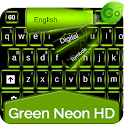 GO Keyboard Green Neon HD icon