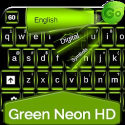 Green Neon HD Keyboard