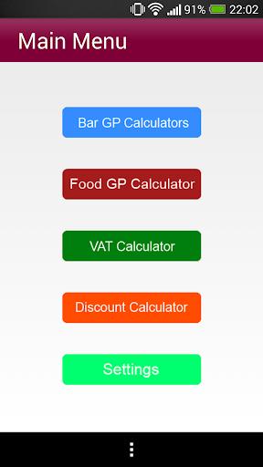 Hospitality Calculators