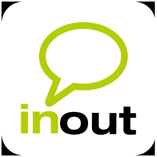 InOut - Organize your meetups LOGO-APP點子