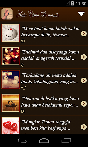 99 Kata Cinta Romantis 1.2 screenshots 2