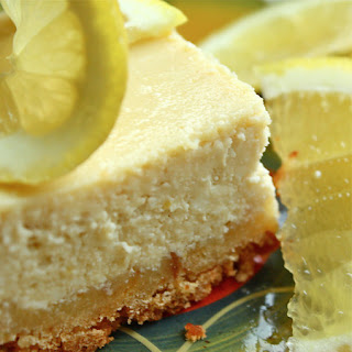 Limoncello Lemon Cheesecake Squares