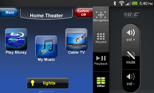 CC Control Mobile for Android™ - screenshot thumbnail