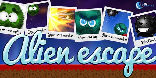 Alien escape P G: Runner game