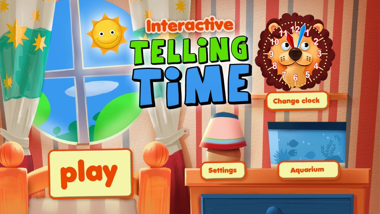 Interactive Telling Time HD- screenshot