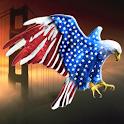 American Eagle 3 Sticker !!! logo