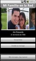 Screenshot of Mi Familia en la Red