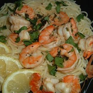 Lemon and Cilantro Shrimp