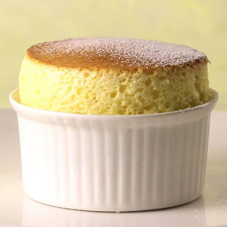Perfect Vanilla Soufflé.