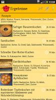 Screenshot of Koch dir 'was! - Rezepte