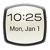 Digital Clock Widget (ICS)