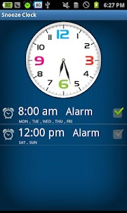 Snooze Clock - Friendly clock- screenshot thumbnail