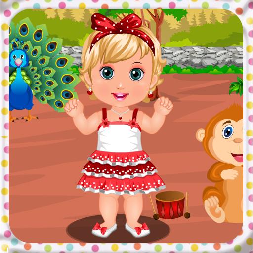 动物园婴儿护理游戏 休閒 App LOGO-硬是要APP