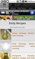 Screenshot of Dressing Recipes!