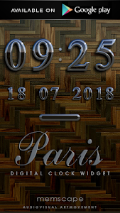 Poweramp skin Paris v2.02