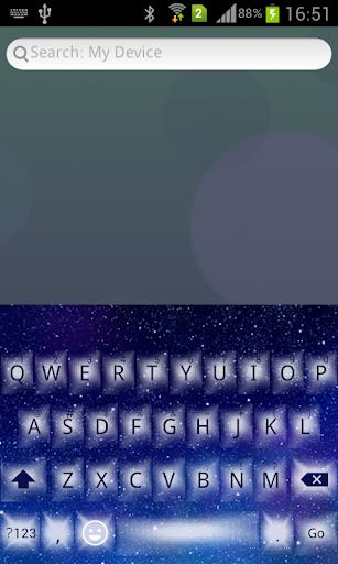 Emoji Keyboard+ Night Star