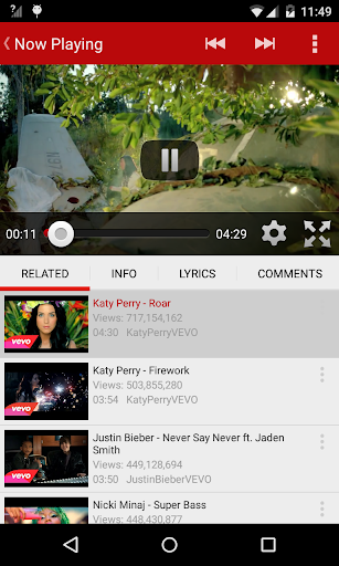 iTube video for Play Tube