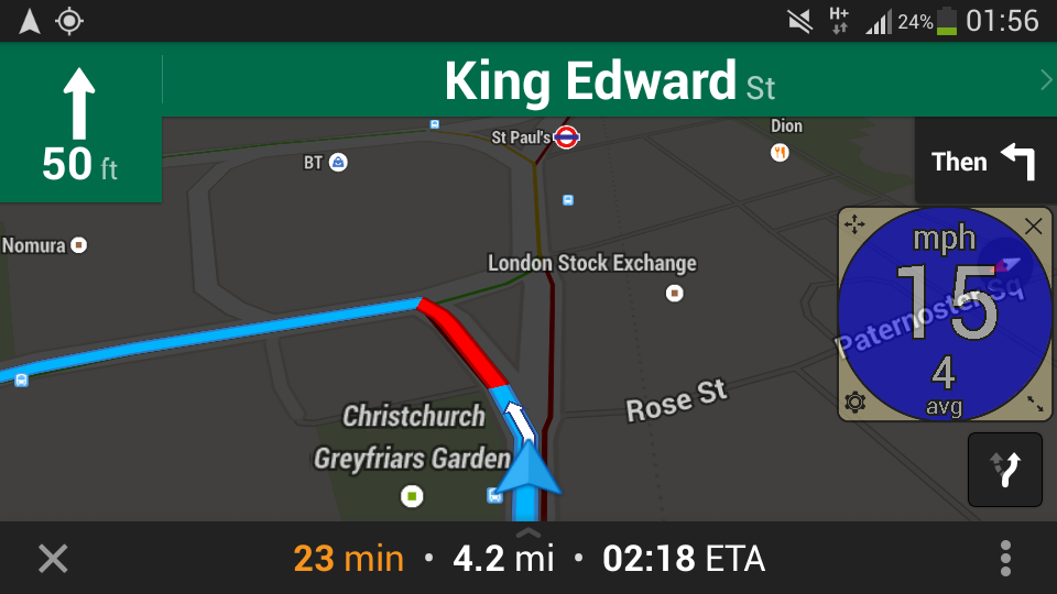 GPS Speedometer Overlay- screenshot