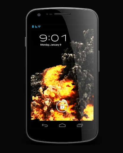 Fire Smoke Explosion Live WP