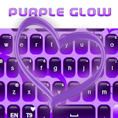 Purple Glow Keyboard