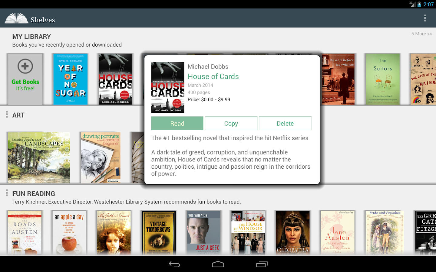 E-Books Reader App - Free- screenshot