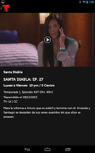 Telemundo Now - screenshot thumbnail