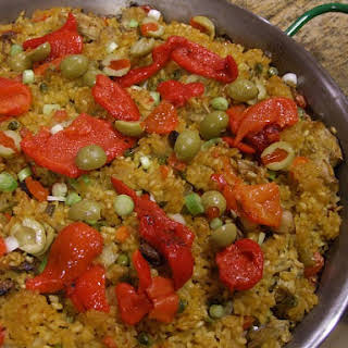Vegetable Paella.