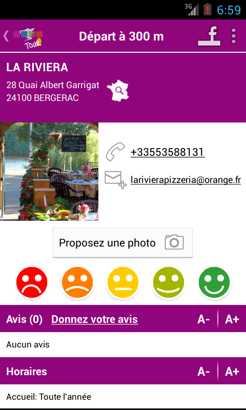 Pays de Bergerac Tour - screenshot
