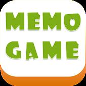 """""""Memo"""" - Memory Game"""