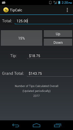 TipCalc for PC