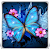 Shiny Butterfly Live Wallpaper file APK for Gaming PC/PS3/PS4 Smart TV