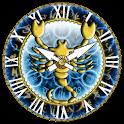 zZodiac Scorpio clock! logo