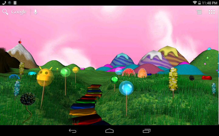 Lollipop Candyland Wallpaper Android App Screenshot
