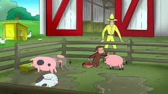 Curious George, Sea Monkey/Old McGeorgie Had a Farm