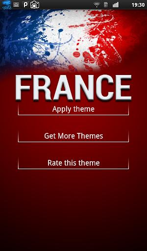 France Keyboard Theme