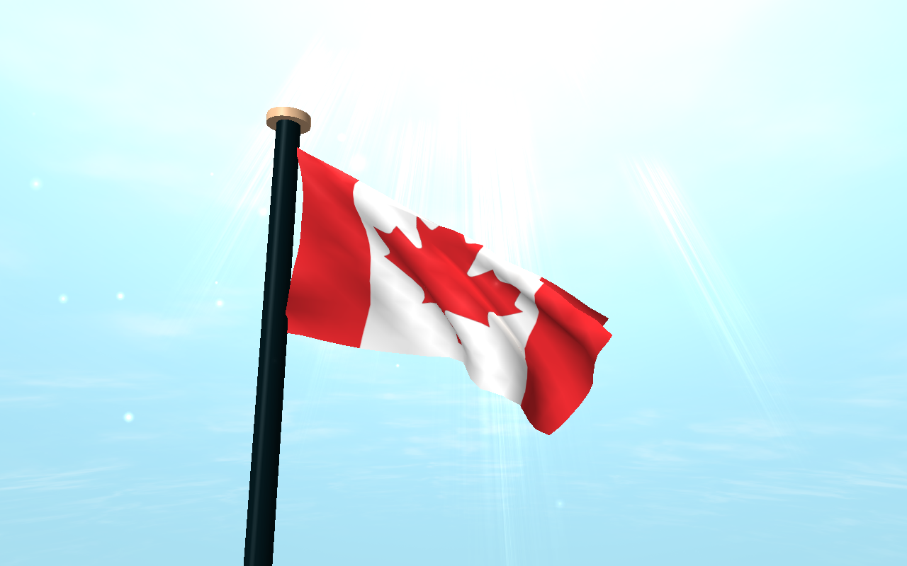 Canada flag 3d live wallpaper android apps on google play for 3d wallpaper canada