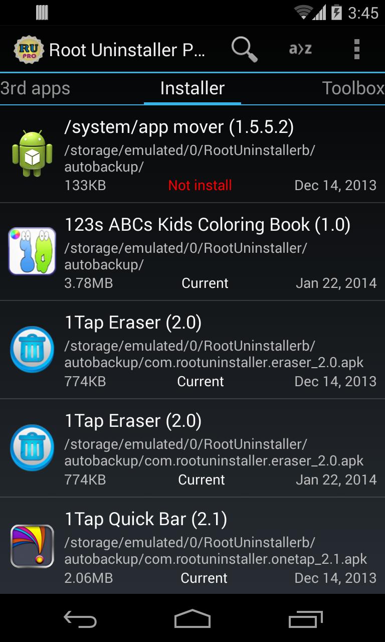 system app installer apk