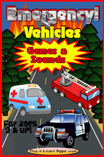 Ambulance Kids Games Sirens