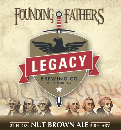 Logo of Founding Father's Nut Brown Ale