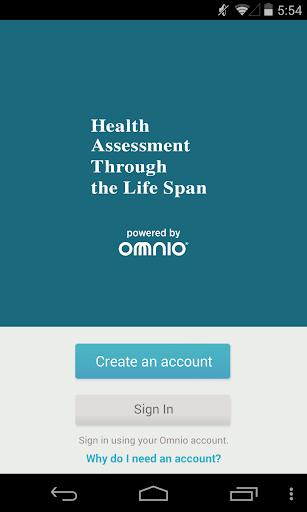 Health Assessment : Life Span
